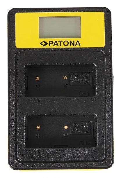 Incarcator Smart Dual USB LCD tip Fuji NP-W126 HS30-EXR HS33-EXR 141645 2