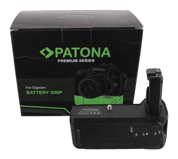 Grip cu telecomanda tip Sony A7 II, A7M2 A7R2 VG-C2EMRC pt. 2 x NP-FW50 1487 1 np-fw50