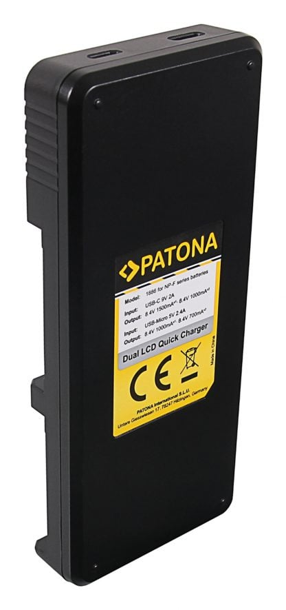 Incarcator Dual USB LCD tip Sony NP-F550 NP-F750 NP-F970 FM50 FM500H 1886 3