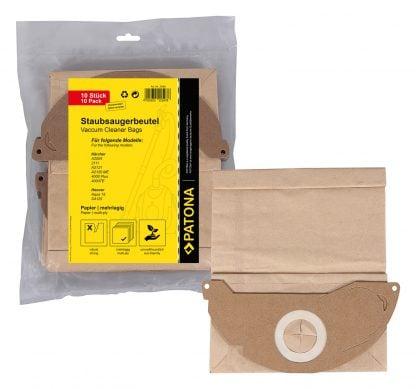 10 saci hartie pentru Kärcher 2111 A2004 A2120 ME 4000 Plus 4000TE Hoover 9580 1