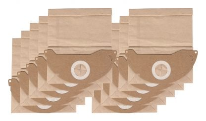 10 saci hartie pentru Kärcher 2111 A2004 A2120 ME 4000 Plus 4000TE Hoover 9580 3