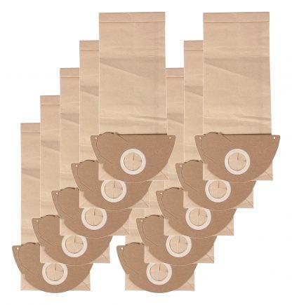 10 saci hartie pentru Kärcher 2101 TE 2105 2111 3500 E 3501 E 4000 Plus 6 9582 2 kärcher