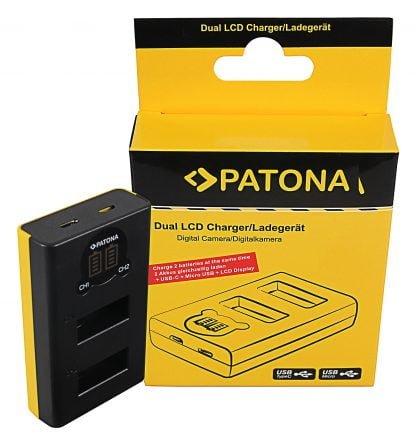 Incarcator Dual USB LCD tip GoPro Max SPCC1B