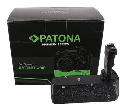 Grip cu telecomanda tip Canon EOS 70D 80D 90D BG-E14H pt. 2x LP-E6 grip pat LP e6 1498 1 Grip cu telecomanda tip Panasonic G9 DMW-BGGH9RC pt 1 x DMW-BLF19
