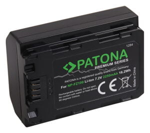 Acumulator Premium tip Sony NP-FZ100 Alpha 7 III A9 2250mAh