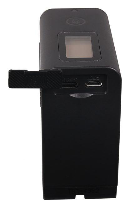 Acumulator Platinum tip Sony NP-F970-LCD micro USB USB-C, incl. Powerbank akku pat F970 LCD 1336 7 Sony NP-F970-LCD