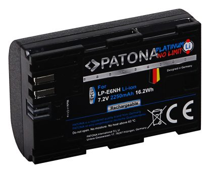 Acumulator Platinum tip Canon LP-E6NH pentru Canon EOS R5 EOS R6 akku pat LP E6NH 1343 2 LP-E6NH