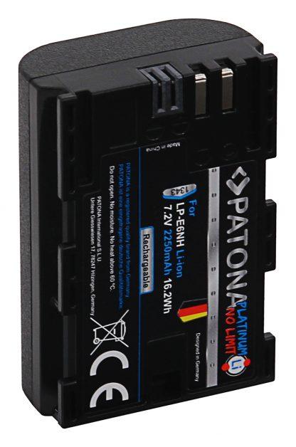 Acumulator Platinum tip Canon LP-E6NH pentru Canon EOS R5 EOS R6 akku pat LP E6NH 1343 4 LP-E6NH