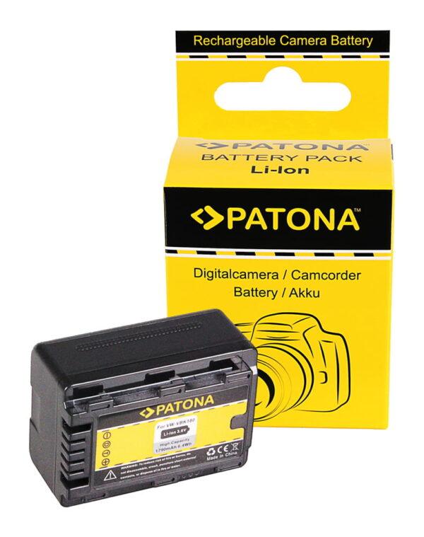 Acumulator tip Panasonic VW-VBK180 VBK 180 VW-VBK360 VBK 360 akku pat VBK180 1102 1