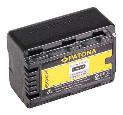Acumulator tip Panasonic  VW-VBK180 VBK 180 VW-VBK360 VBK 360 akku pat VBK180 1102 2