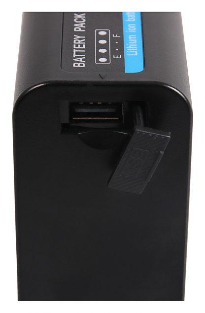 Acumulator Premium tip JVC SSL-75 pt JVC SSL-JVC50 SSL-JVC75 HM600 akku pat SSL75 prem 4 jvc ssl-75