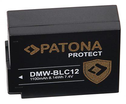 Acumulator Protect tip Panasonic DMW-BLC12 DMW-BLC12E akku pat 11965 2 DMW-BLC12