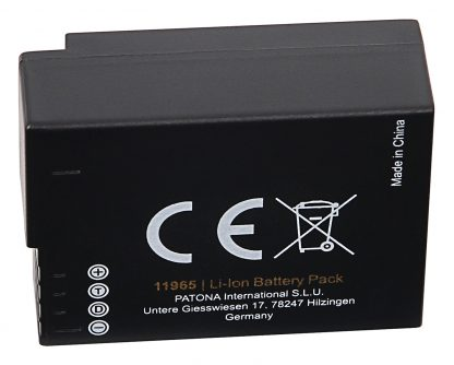 Acumulator Protect tip Panasonic DMW-BLC12 DMW-BLC12E akku pat 11965 3 DMW-BLC12