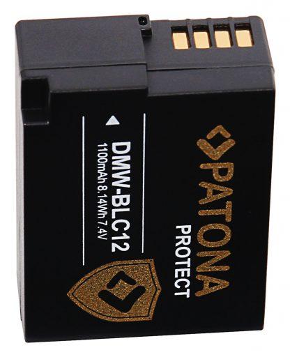 Acumulator Protect tip Panasonic DMW-BLC12 DMW-BLC12E akku pat 11965 4 DMW-BLC12