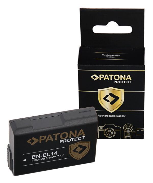 Acumulator Protect tip Nikon EN-EL14 Coolpix D5600 P7800 akku pat 11975 1 EN-EL14