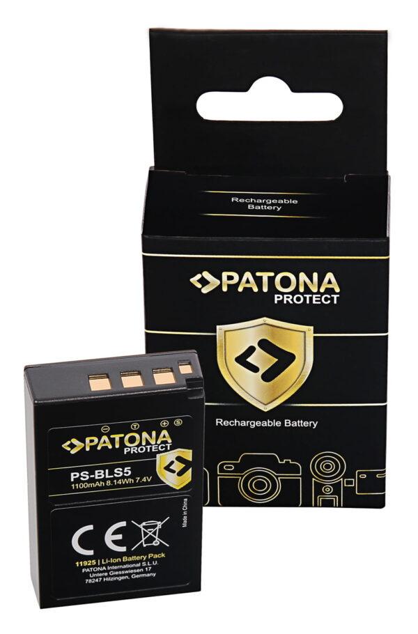 Acumulator Protect tip Olympus BLS-5 BLS5 E-P3 E-PL2 11925 1 bls5