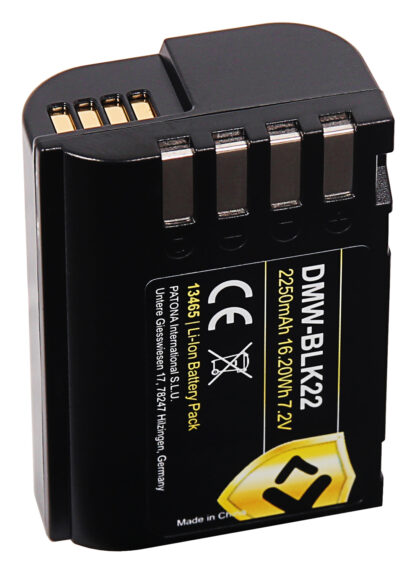 Acumulator Protect tip Panasonic DMW-BLK22 DC-S5 G9 GH5 GH5S 13465 4 DMW-BLK22