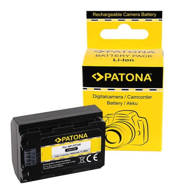Acumulator tip Sony NP-FZ100 A7 III A7M3 ALPHA 7 III A7 R III A7RM3 7 R III A9 akku 1285 1 NP-FZ100