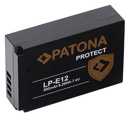 Acumulator Protect tip Canon LP-E12 akku 12975 2 LP-E12
