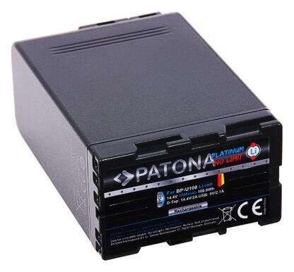 Acumulator Platinum tip Sony BP-U100 BP-U60 USB 2xD-Tap akku 1341 2 Sony BP-U100