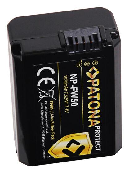 Acumulator Protect tip Sony NP-FW50 akku pat 12485 3 NP-FW50