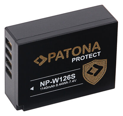 Acumulator Protect tip Fuji NP-W126S NP-W126 S X-T3 VPB-XT3 akku pat 12795 2 NP-W126S