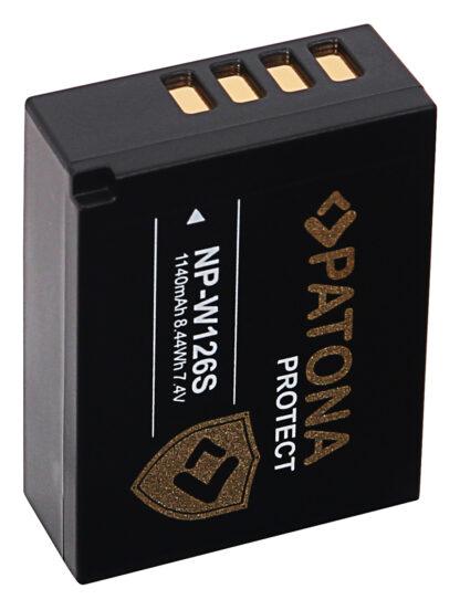 Acumulator Protect tip Fuji NP-W126S NP-W126 S X-T3 VPB-XT3 akku pat 12795 4 NP-W126S