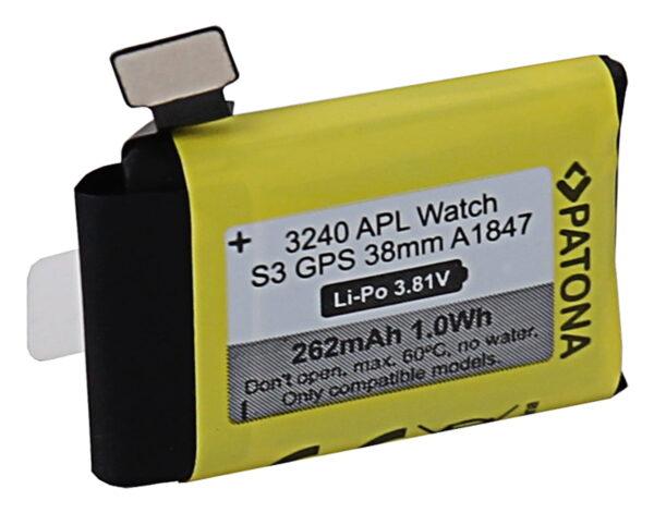 Acumulator tip Apple Watch Serie 3 GPS 38mm A1847 3240 2 Apple