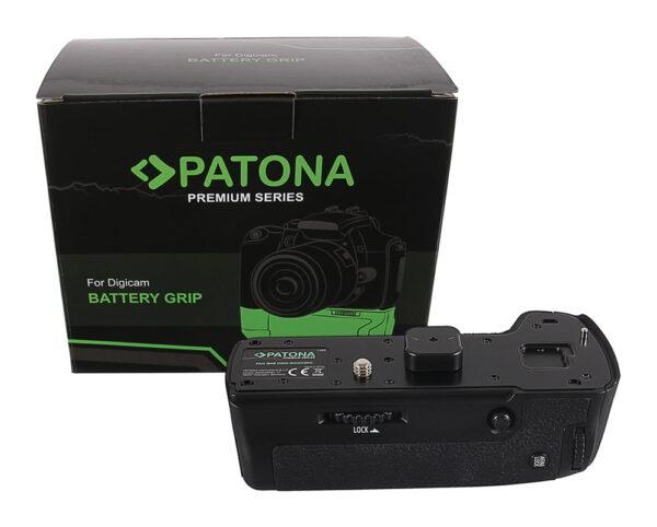 Grip baterie PATONA pentru Panasonic GH5 DMW-BGGH5RC DMW-BLF19 cu telecomanda grip pat BLF19 1489 cutie Panasonic GH5